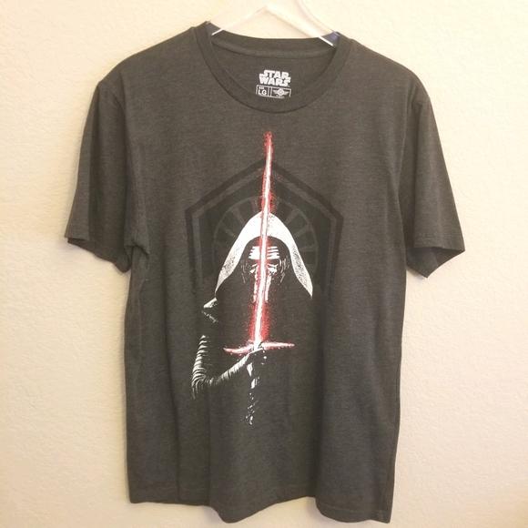 Star Wars Kylo Ren Black Tshirt Large